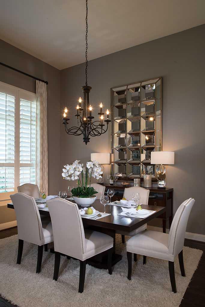 New home plan 292 in prosper tx 75078 for Modern dining hall design