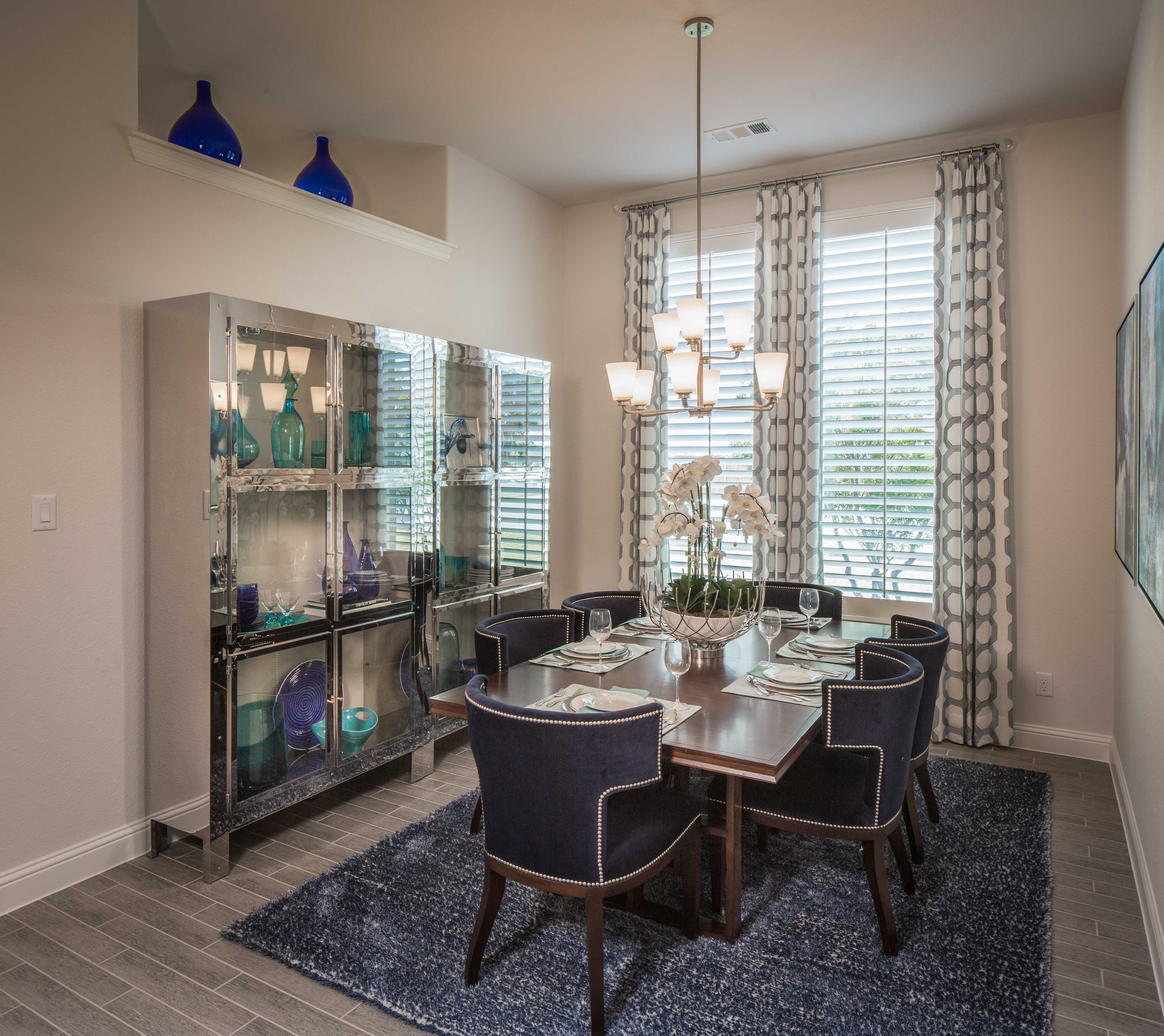 Model Home in Dallas / Fort Worth Texas, Windsong Ranch 60s community
