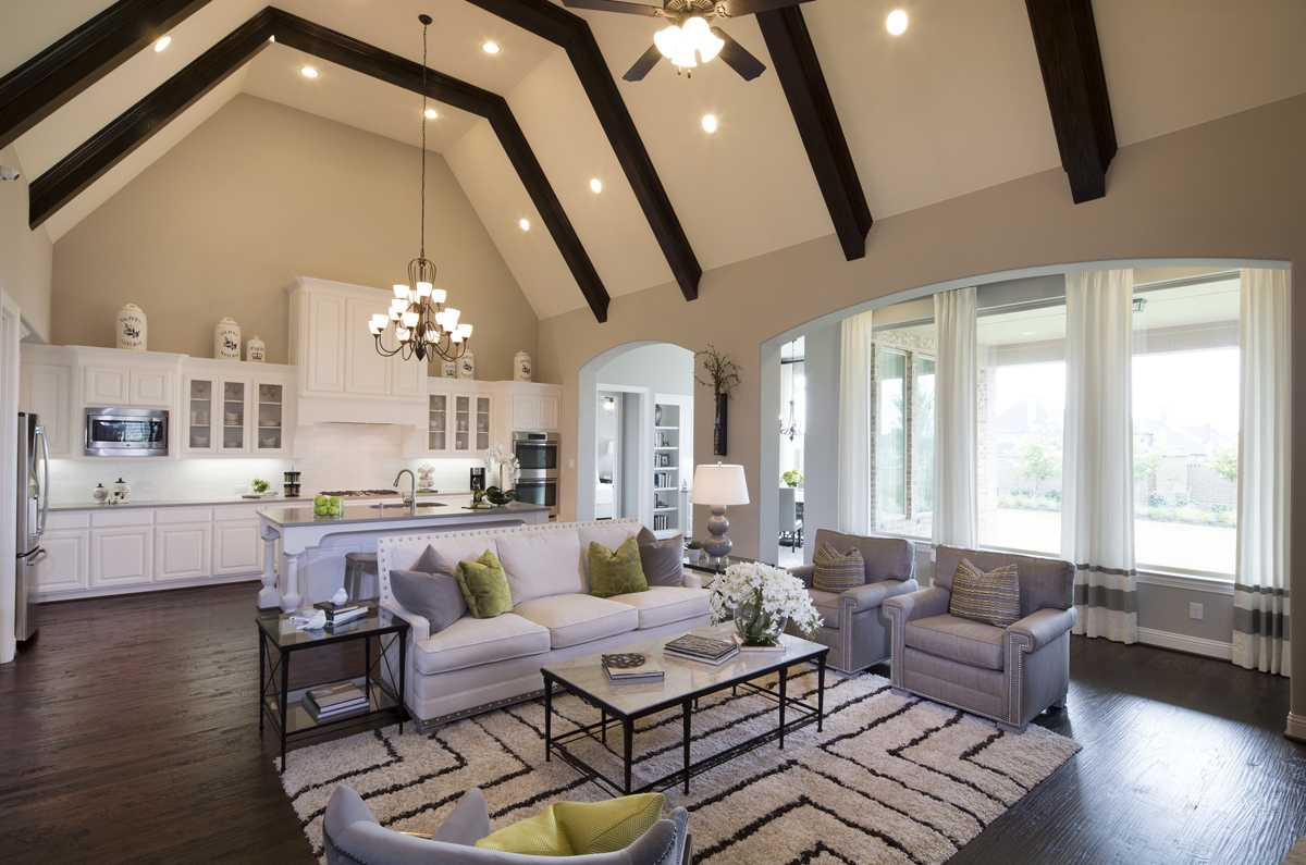 family gathering Highland Homes Texas Homebuilder