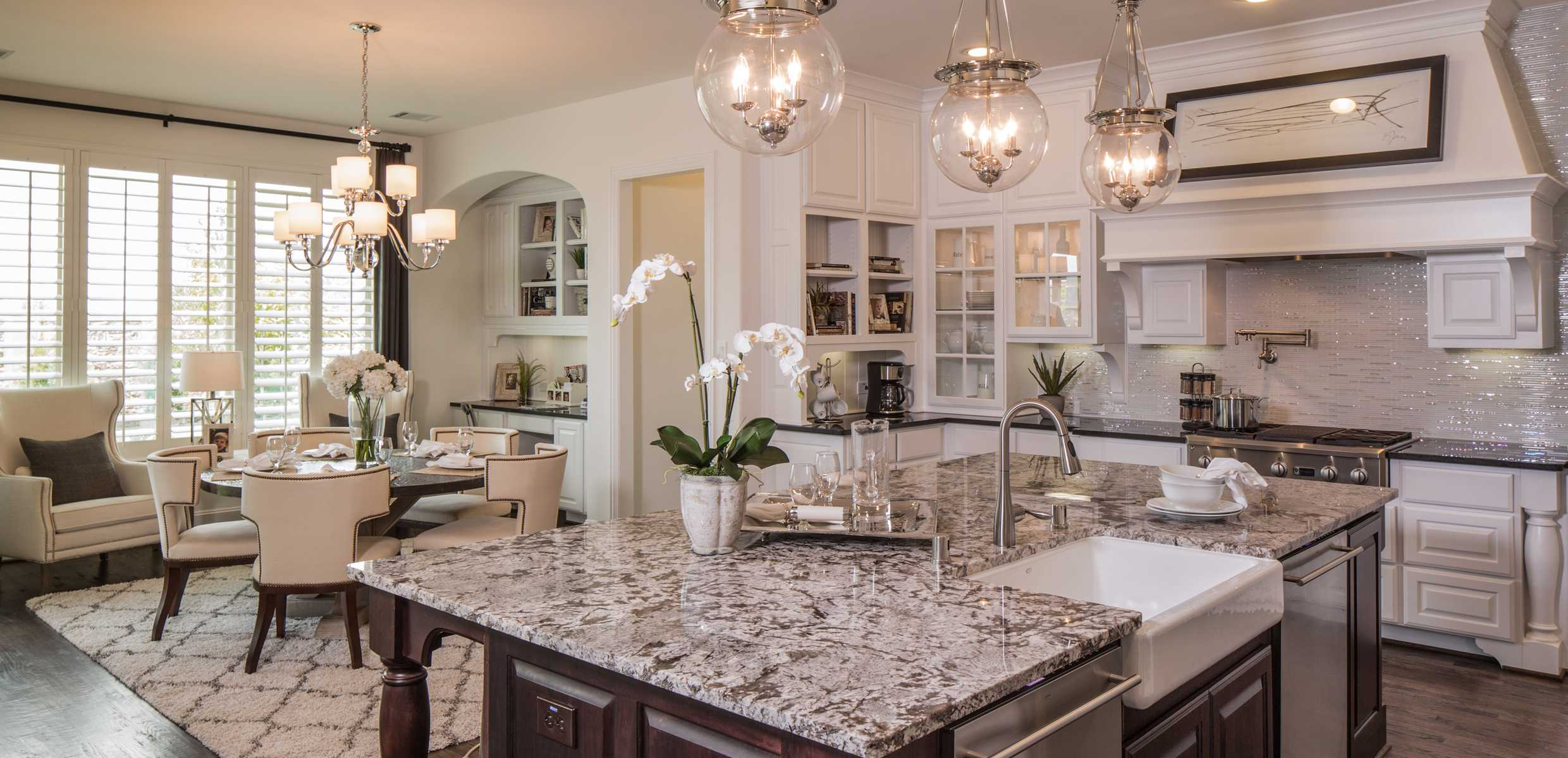 GOURMET KITCHEN | CROSS CREEK RANCH | FULSHEAR, TX