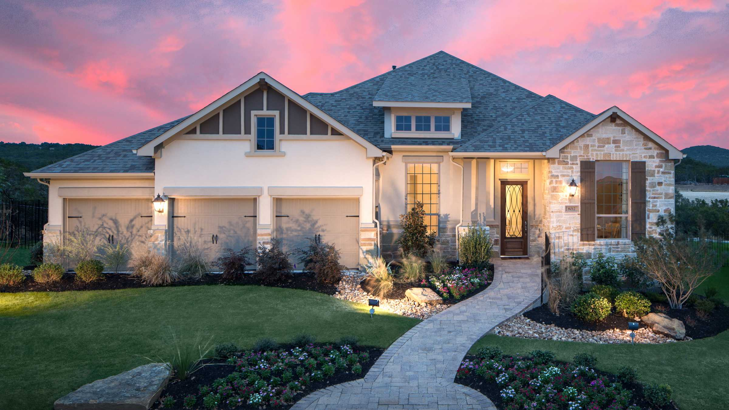 New Homes In Lakeside At Tessera On Lake Travis 60ft Lots Home Builder Lago Vista Tx