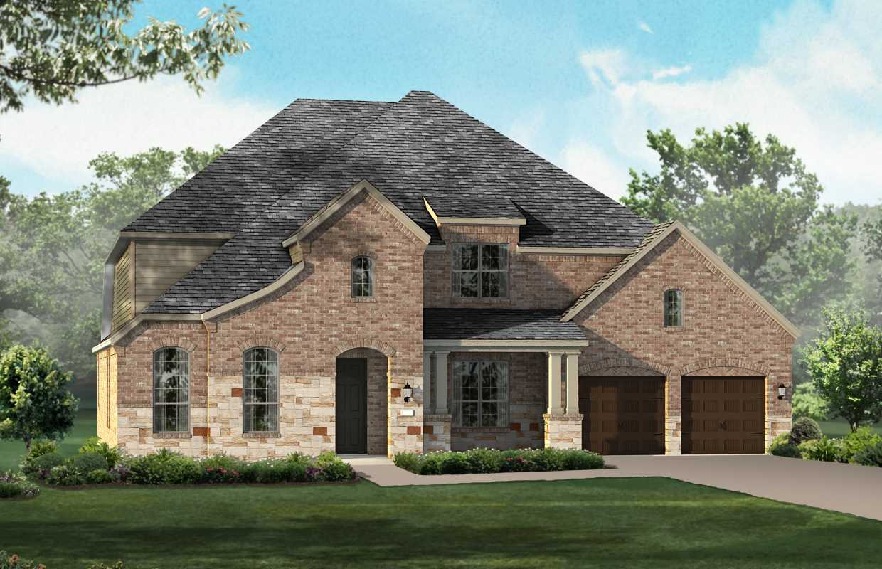 New Home Plan 264 In San Antonio Tx 78253