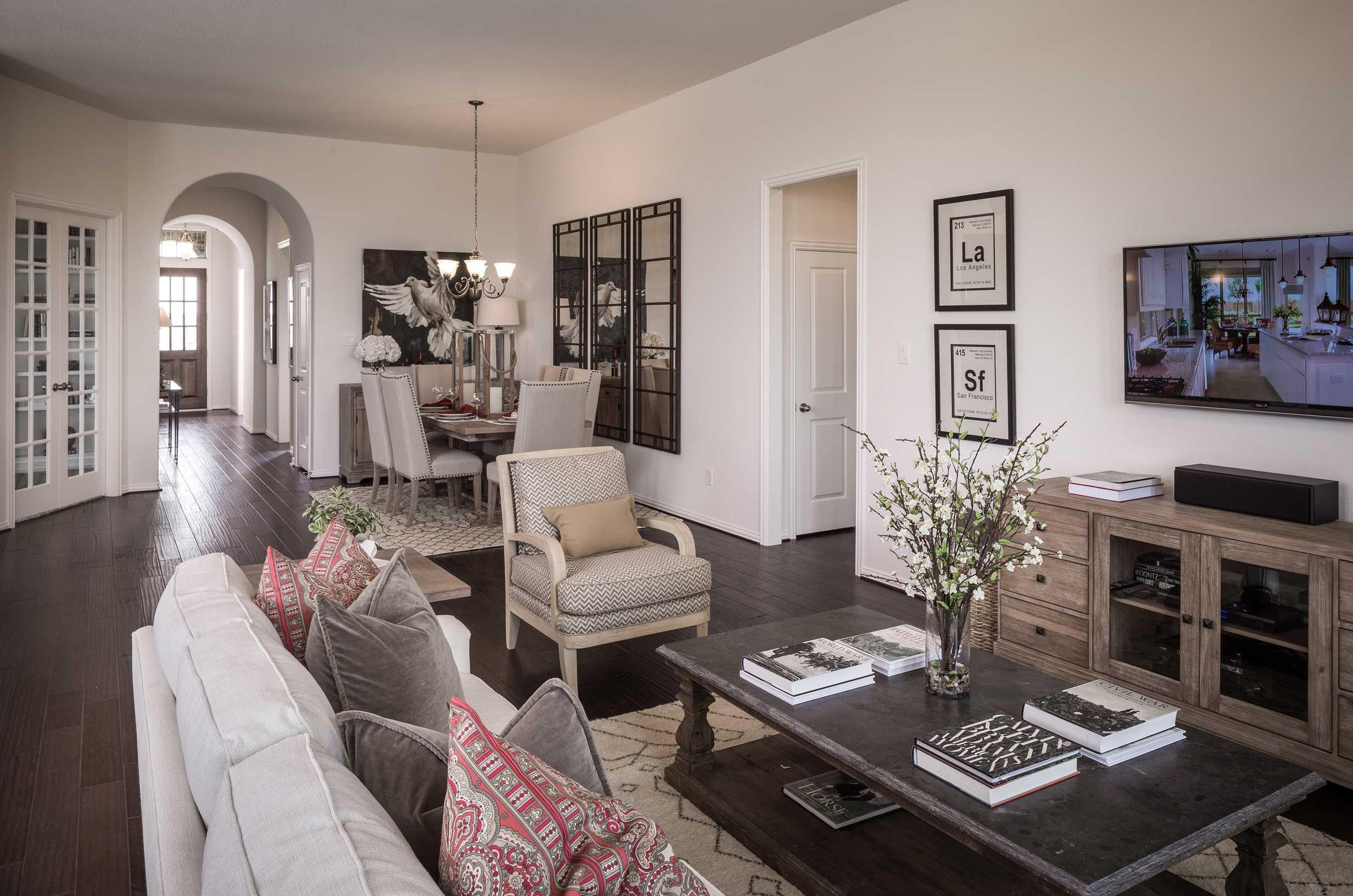 Model Home In Houston Texas Grand Mission Estates 50s Community