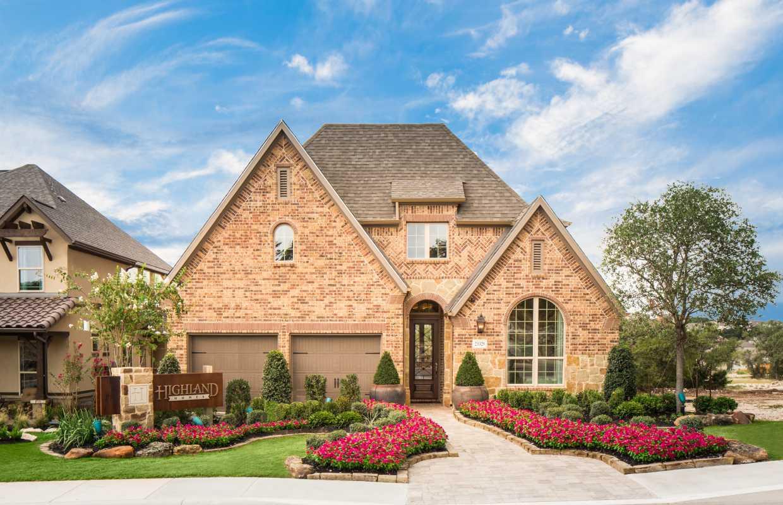 Model Home In San Antonio Texas Coronado Community