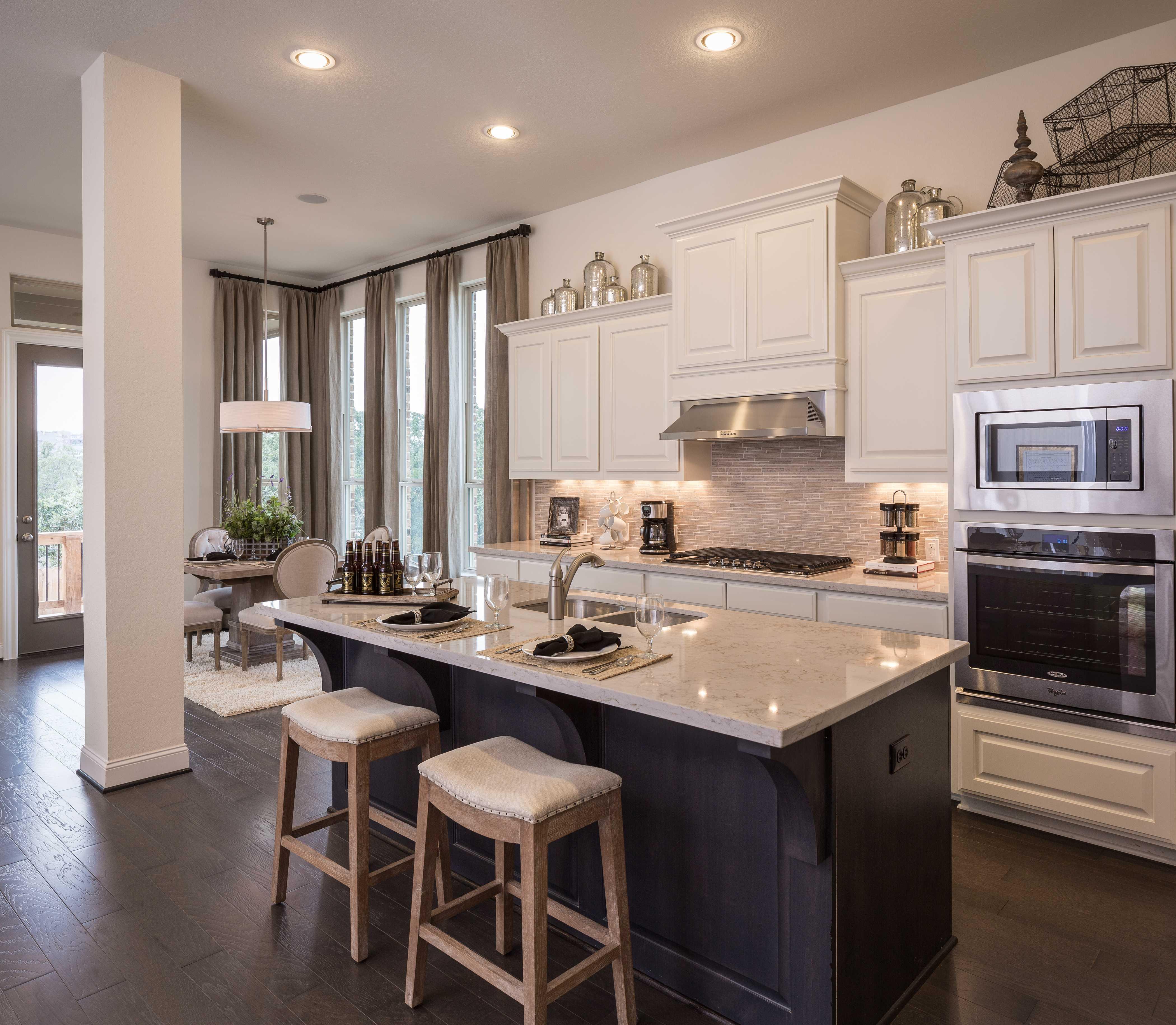 Kitchen Cabinets In San Antonio: Model Home In San Antonio Texas, Coronado Community