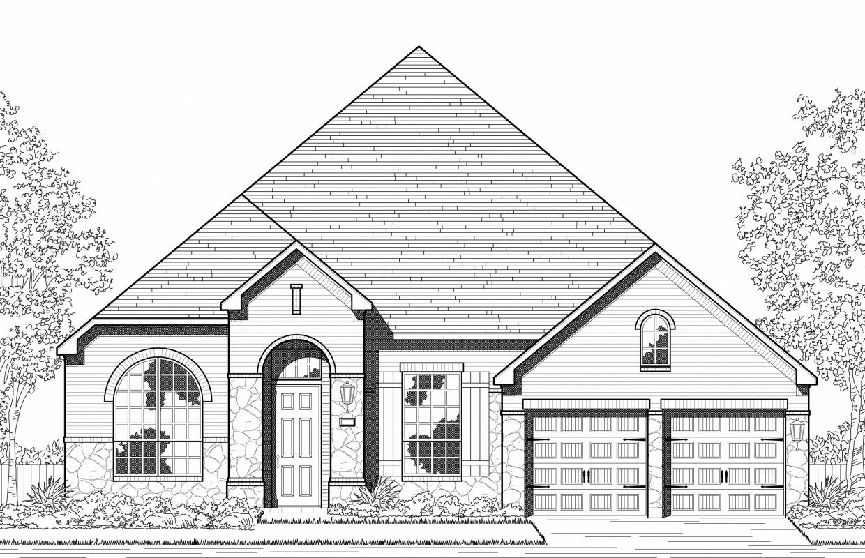 New Home Plan 229 in Lago Vista, Texas 78645