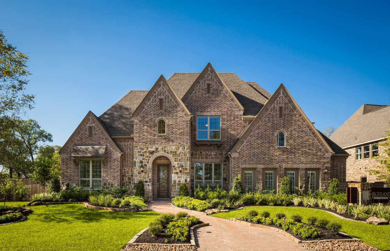 Model home in houston texas sienna plantation 75s community for Sienna house