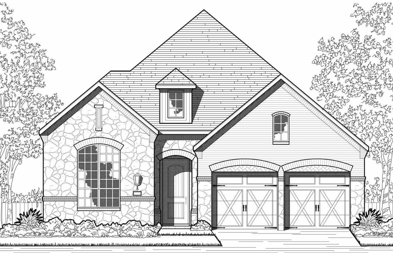 New Home Plan 502 in Lantana, TX 76226