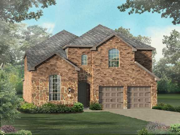 New Home Plan 537 In San Antonio Tx 78258
