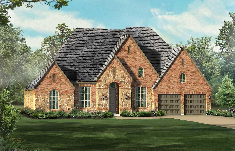 new home plan 262 in prosper tx 75078