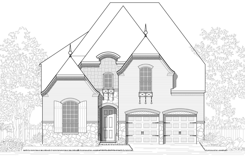 New Home Plan 537 in Prosper, TX 75078