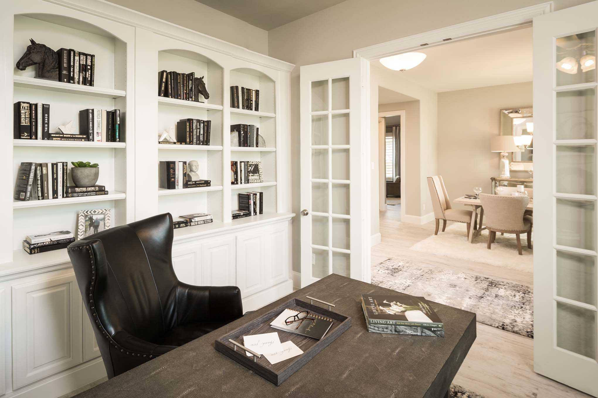 Representative Photo   study. Model Home in Houston Texas  Cinco Ranch 70s community
