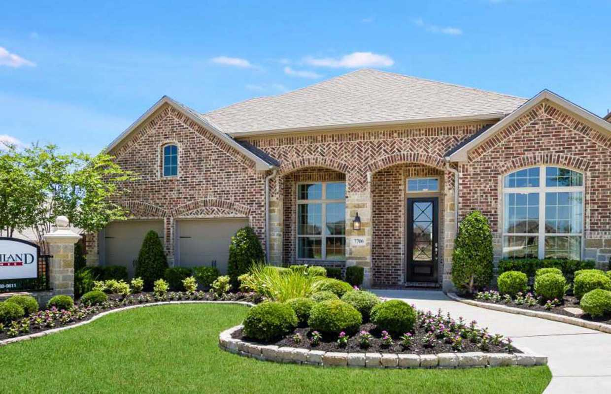 Model home in san antonio texas stillwater ranch community for Ranch model homes