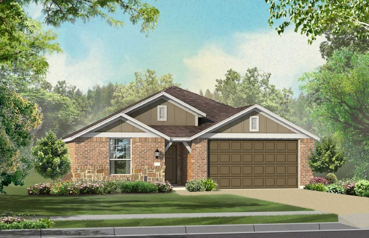 New Home Plan Ashwood In Round Rock Tx 78665