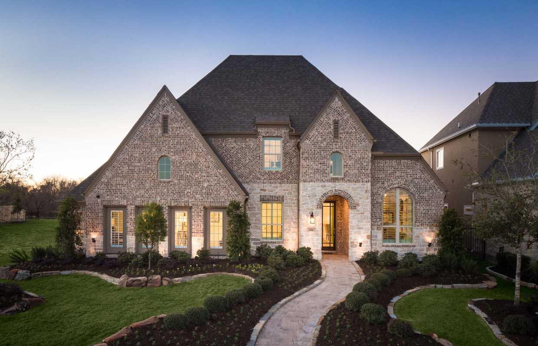 Model Home In Houston Texas Harvest Green Community