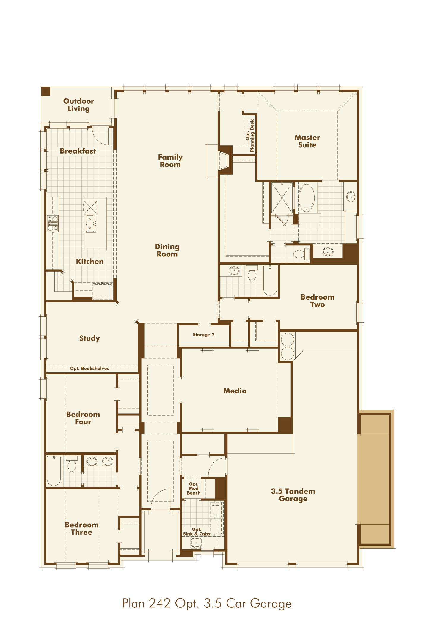 new home plan 242 in georgetown tx 78628