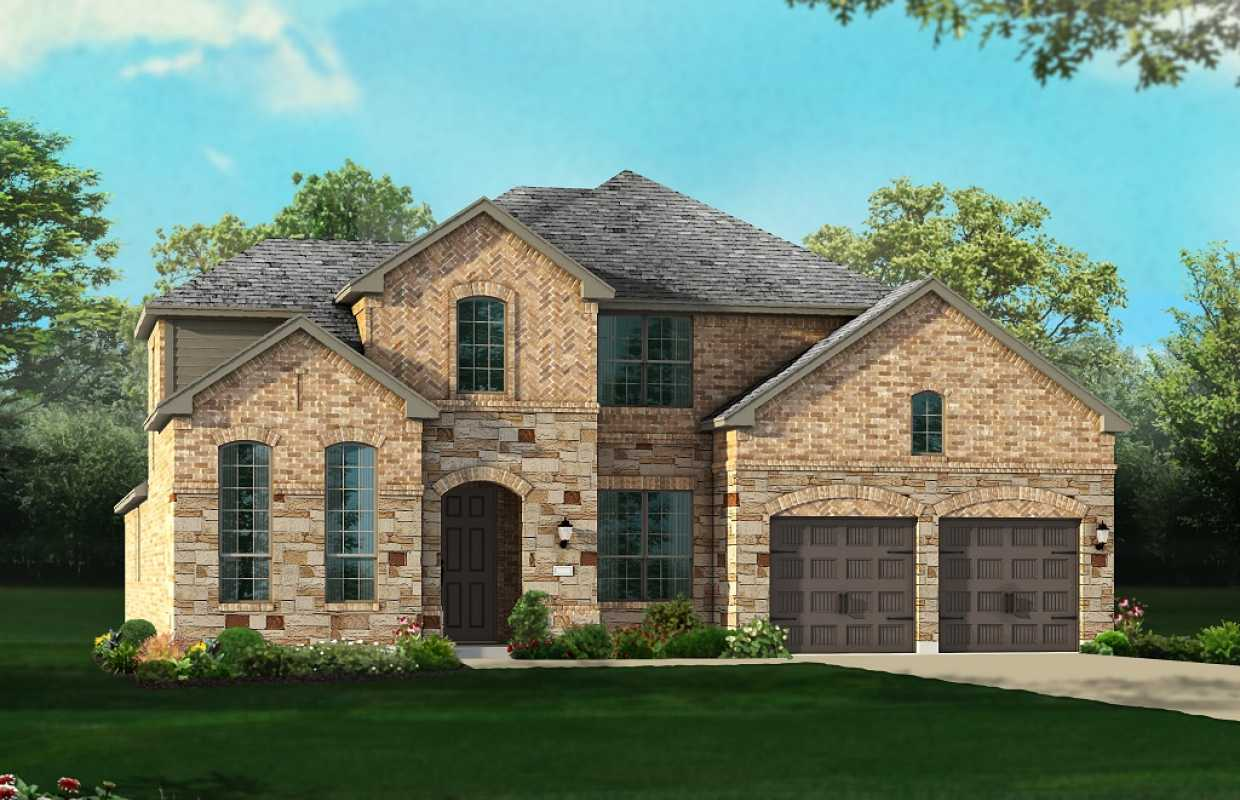 New home plan 245 in conroe tx 77385 for House plans houston