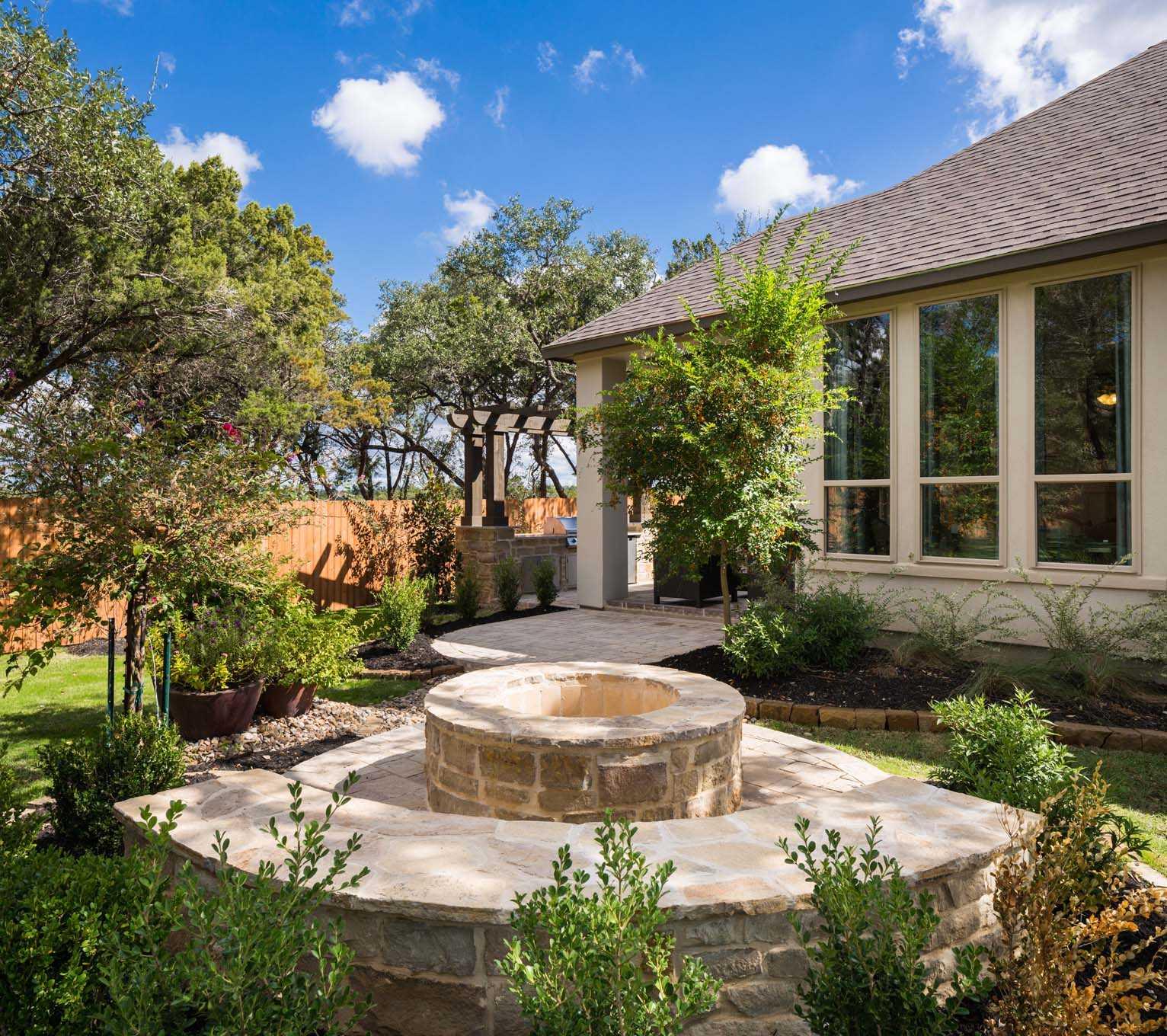 Patio Builders San Antonio Tx: Model Home In San Antonio Texas, Cibolo Canyons