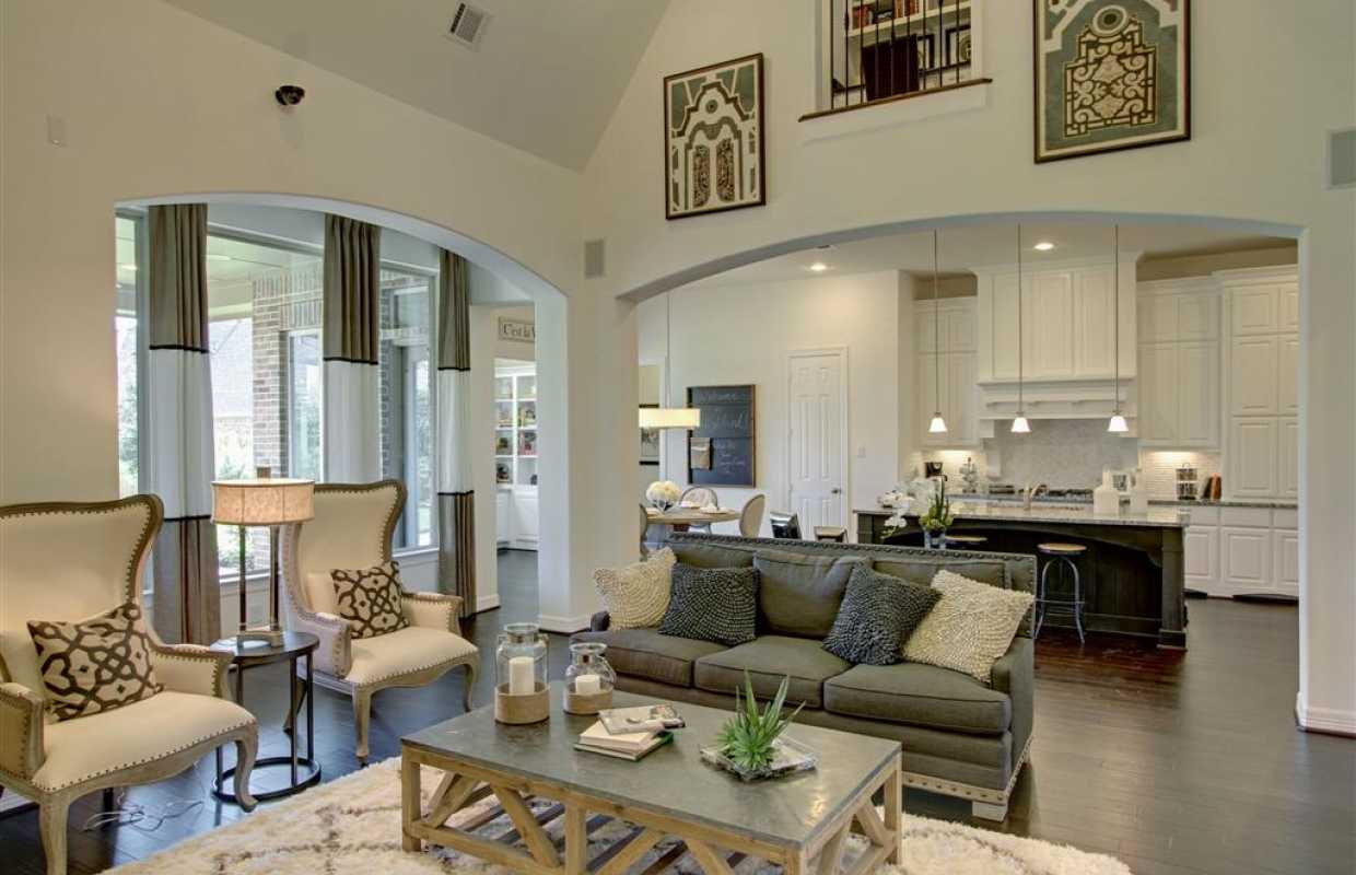 Marvelous Model Home Family Room Pictures Gallery Simple