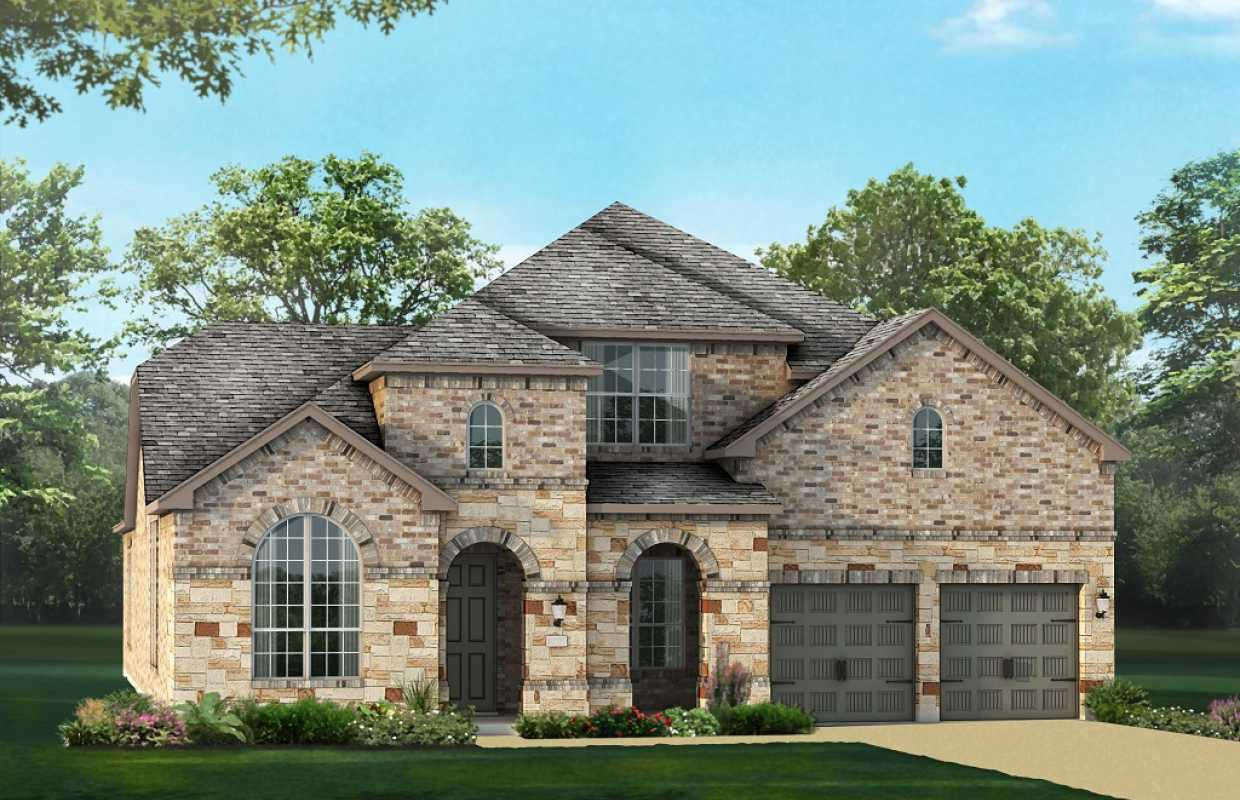New home plan 246h in cypress tx 77433 for House plans houston