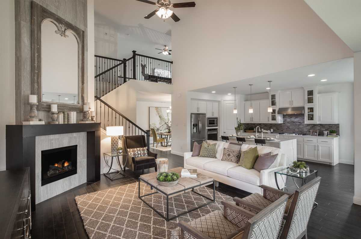 open space Highland Homes Texas Homebuilder
