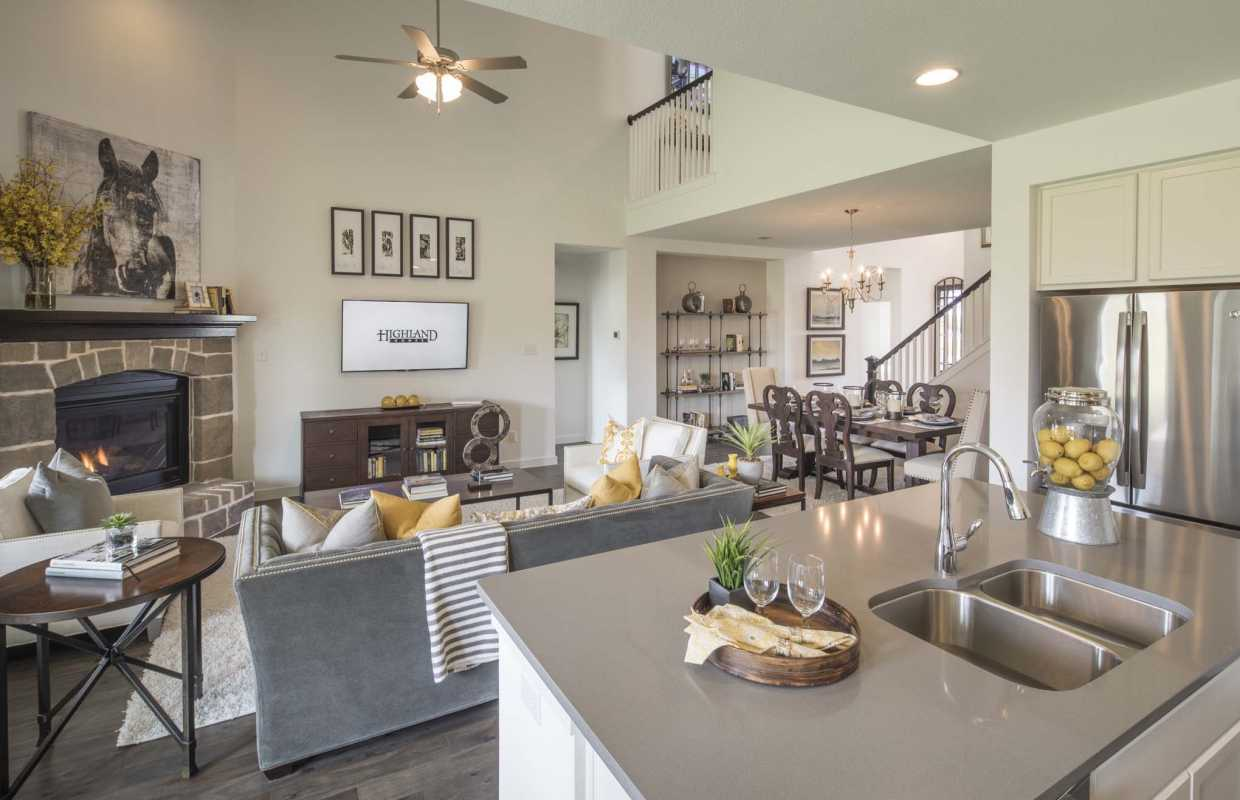 Model Home In Dallas Fort Worth Texas Inspiration Community