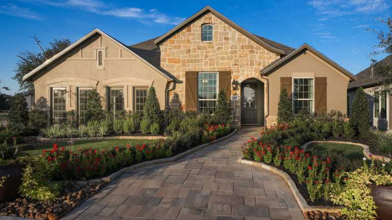 New Homes In Settlement At Gruene