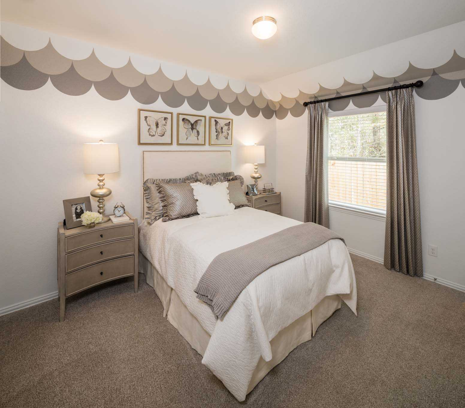 Model Home In Houston Texas, Woodforest