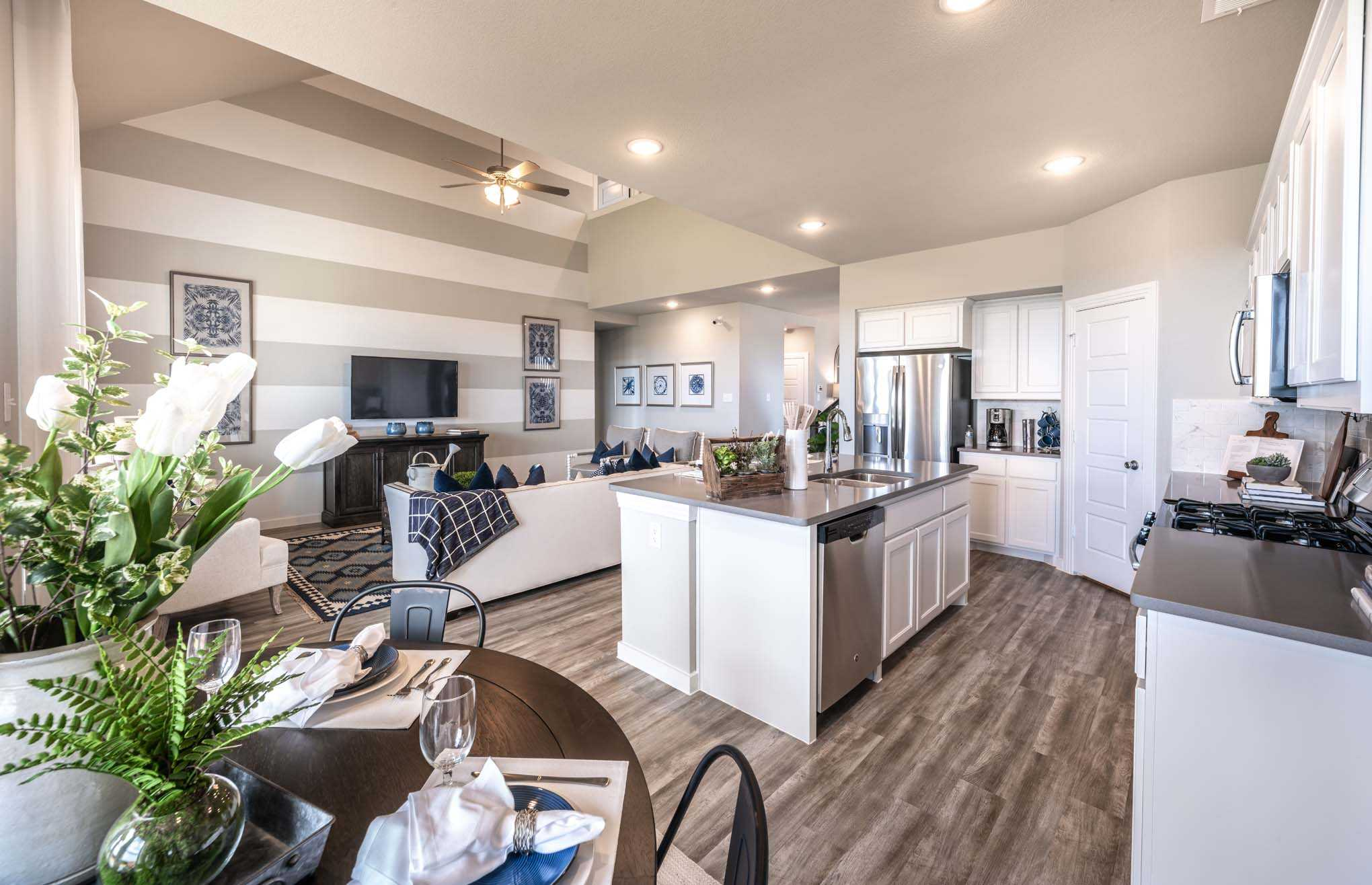 Model Home in Dallas / Fort Worth Texas, Waterscape community