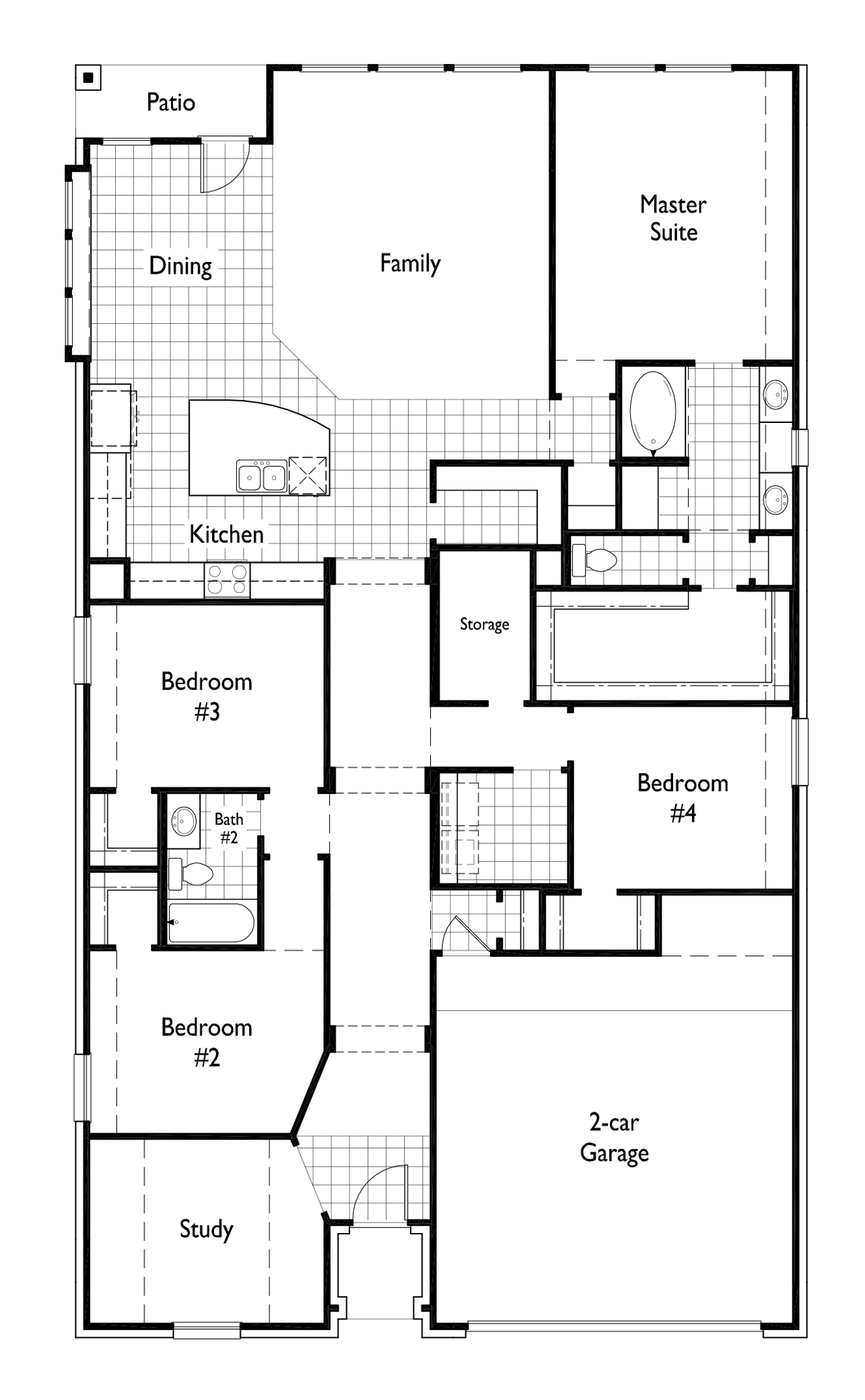 New home plan davenport in denison tx 75020 highland homes ccuart Images