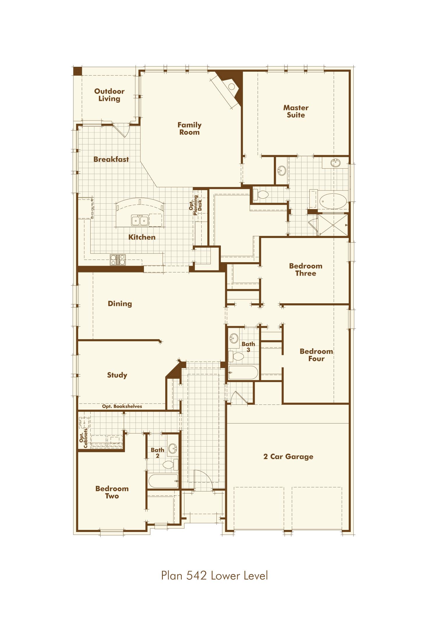 New Home Plan 542 in Richmond, TX 77407