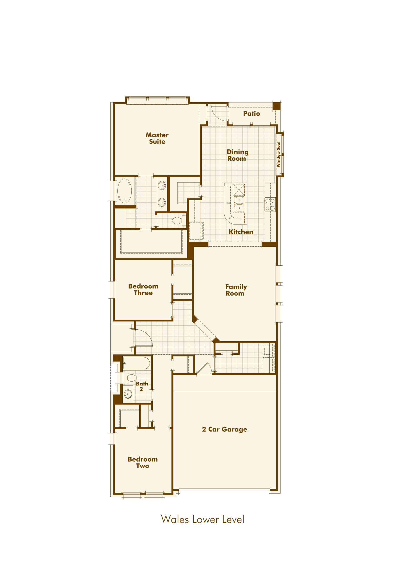 North Grove, TX floorplan