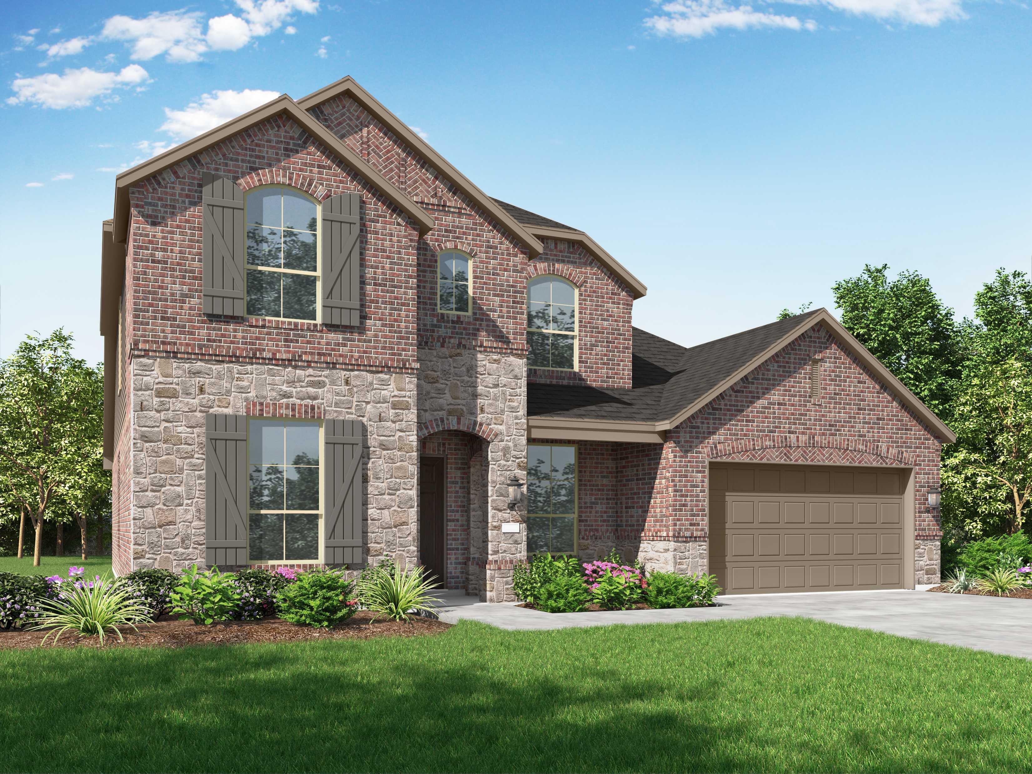 New Home Plan Wimbledon In San Antonio Tx 78254