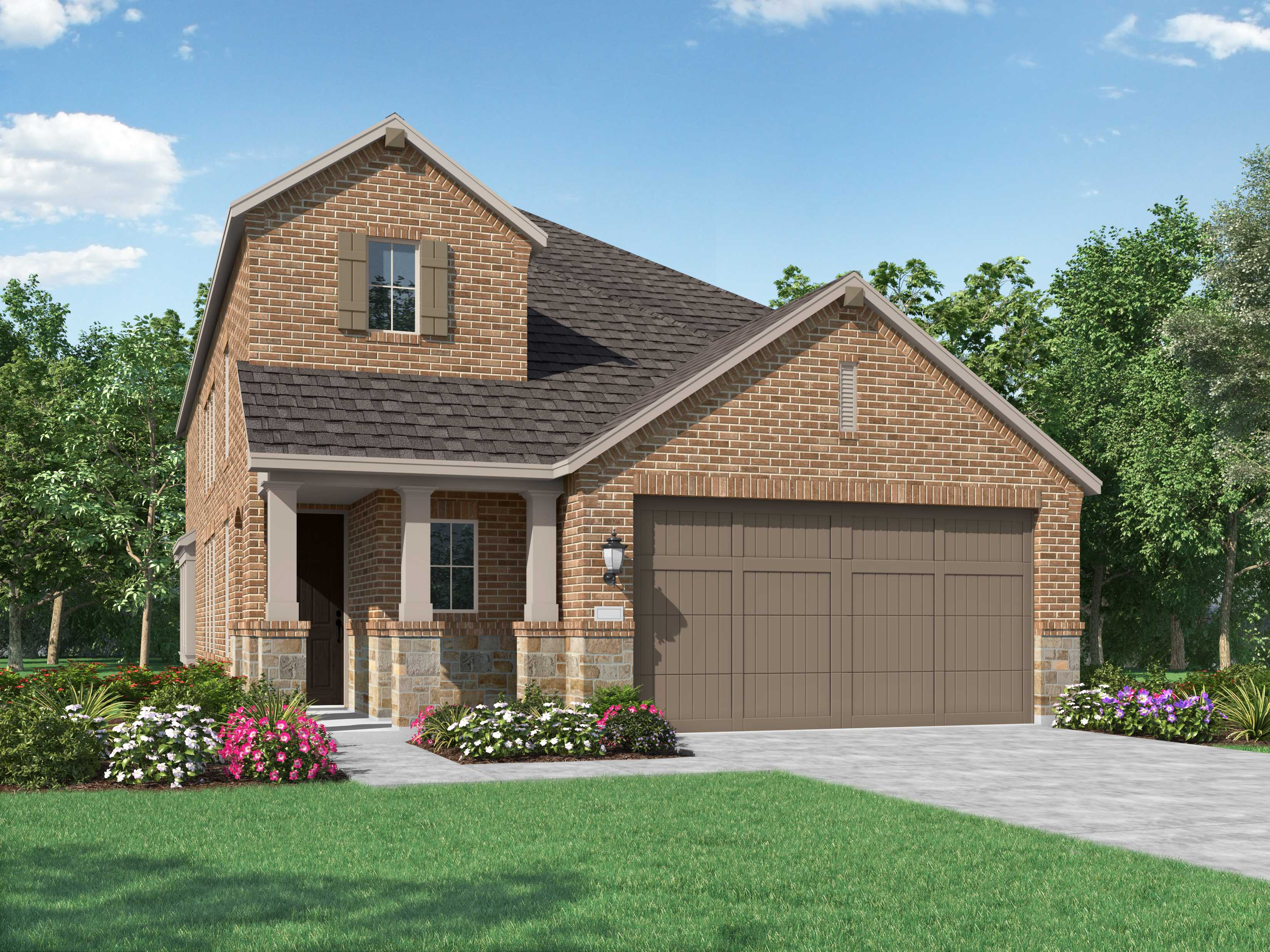 New Home Plan Everleigh In Cypress Tx 77433