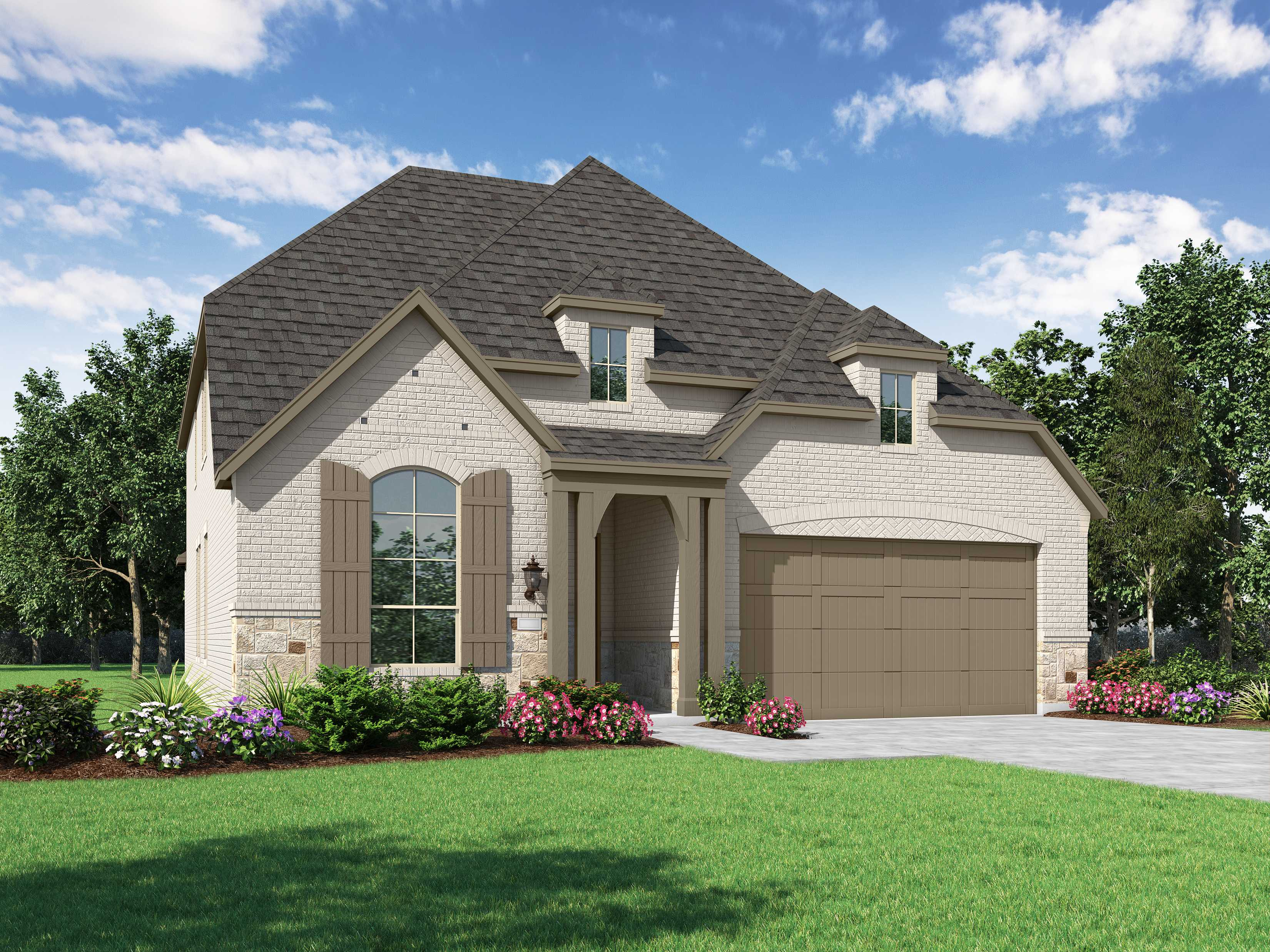 New Home Plan Wakefield In Celina Tx 75009