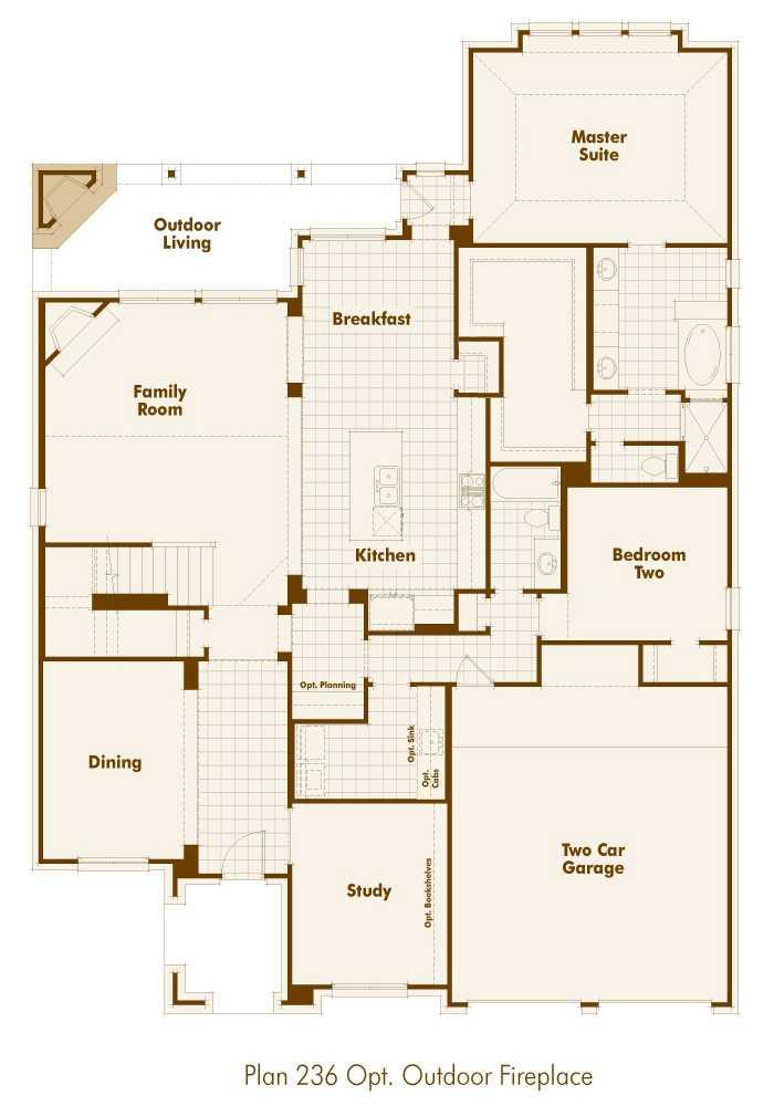 New home plan 236 in san antonio tx 78254 House plans san antonio