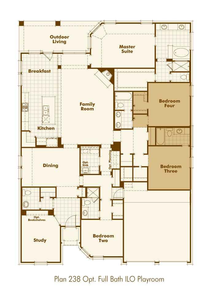 Highland Home Floor Plans Texas House Design Ideas