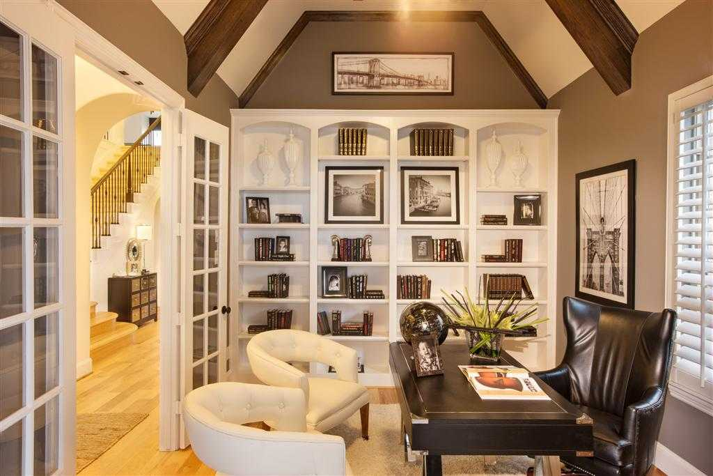Representative Photo   Study. New Home Plan 615 in Frisco  TX 75033