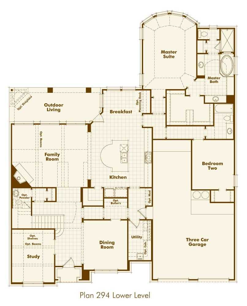 Highland Homes Floor Plans Texas House Design Plans
