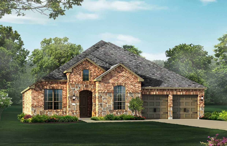 New home plan 231 in san antonio tx 78254 House plans san antonio