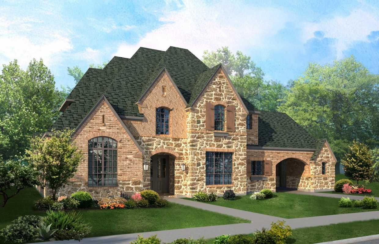 New Home Plan 679 In Cypress TX 77429